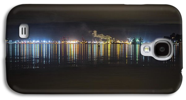 Port Of Tacoma Lights Galaxy S4 Case