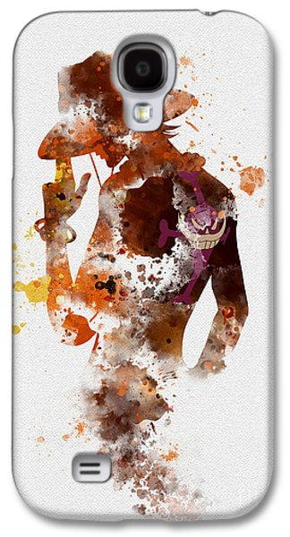 Portgas D. Ace Galaxy S4 Case by Rebecca Jenkins