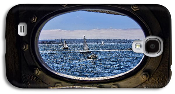 Porthole Galaxy S4 Case by Keith Ducker