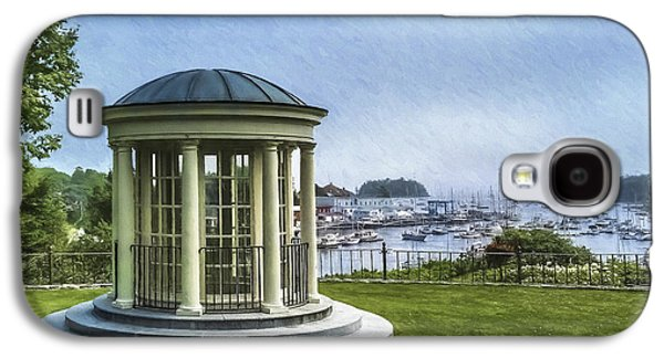 Portico View Of Camden From The Public Library Galaxy S4 Case