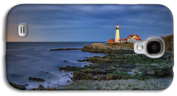 Portland Head Aglow Galaxy S4 Case by Rick Berk