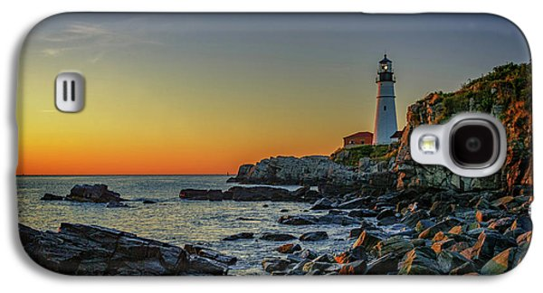 Portland Head Light At Dawn Galaxy S4 Case by Rick Berk