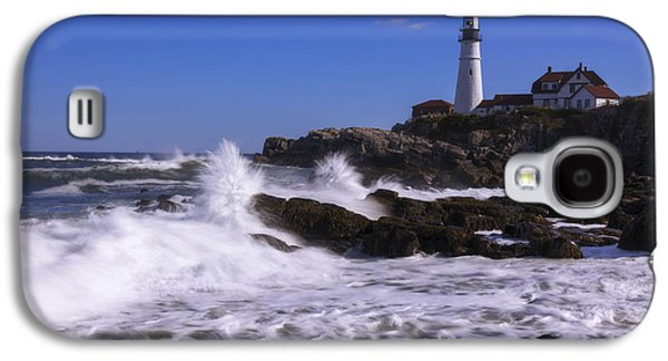 Portland Head Light I Galaxy S4 Case by Chad Dutson