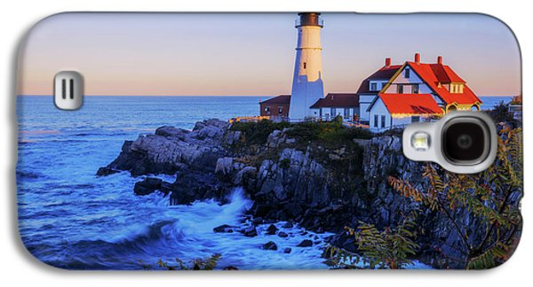 Portland Head Light II Galaxy S4 Case by Chad Dutson