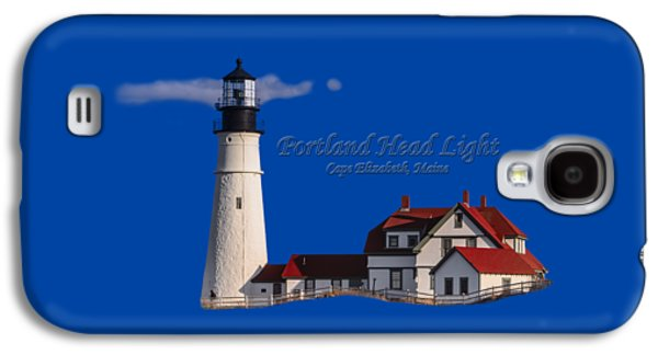Portland Head Light No. 43 Galaxy S4 Case by Mark Myhaver