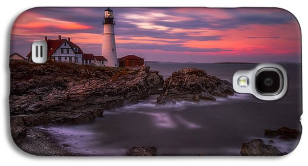 Portland Head Sunset Galaxy S4 Case