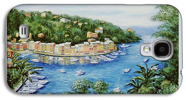 Portofino Majestic Panoramic View Galaxy S4 Case by Marilyn Dunlap