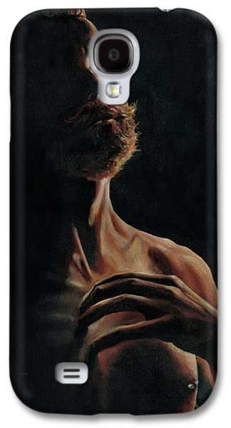 Portrait In Contemplation Galaxy S4 Case by Richard Mountford