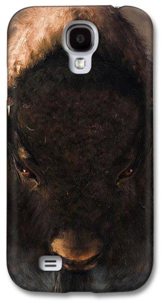 Portrait Of A Buffalo Galaxy S4 Case