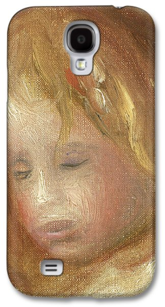 Portrait Of A Child Galaxy S4 Case by Pierre Auguste Renoir