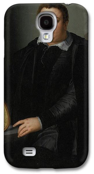 Portrait Of A Gentleman Galaxy S4 Case by Alessandro Allori