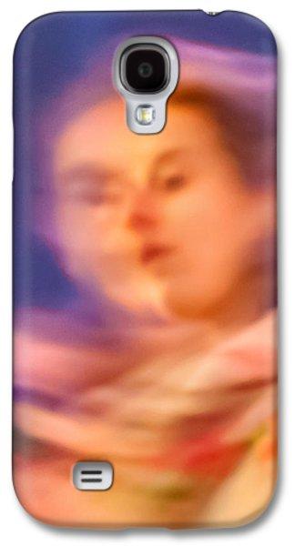 Portrait Of A Lady Galaxy S4 Case by Az Jackson