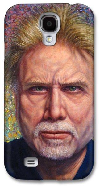 Portrait Of A Serious Artist Galaxy S4 Case