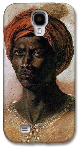 Portrait Of A Turk In A Turban Galaxy S4 Case by Ferdinand Victor Eugene Delacroix