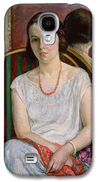 Portrait Of A Woman Galaxy S4 Case