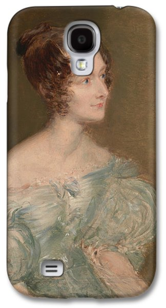 Portrait Of A Woman, Probably Mrs. Price Of Rugby Galaxy S4 Case by John Linnell