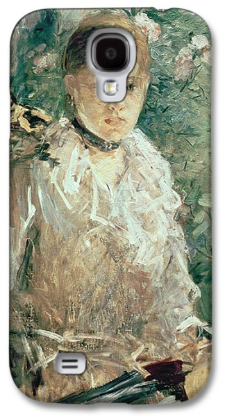 Portrait Of A Young Lady Galaxy S4 Case by Berthe Morisot