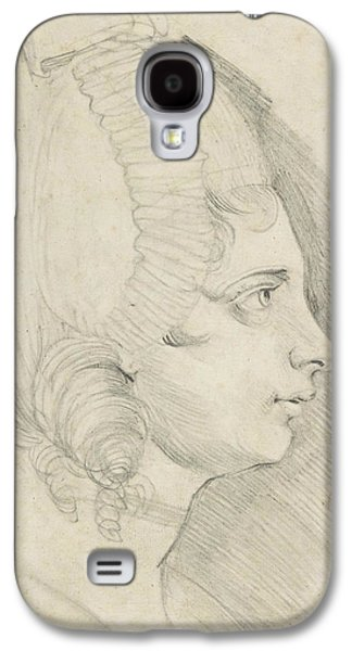 Portrait Of A Young Lady Drawn In Left Profile Galaxy S4 Case