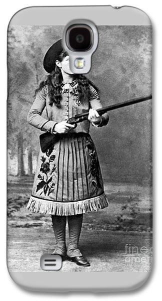 Portrait Of Annie Oakley Galaxy S4 Case by American School