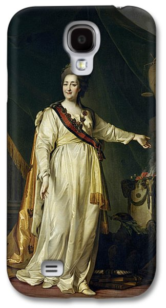 Portrait Of Catherine II The Legislatress In The Temple Of The Goddess Of Justice Galaxy S4 Case by Dmitry Levitsky