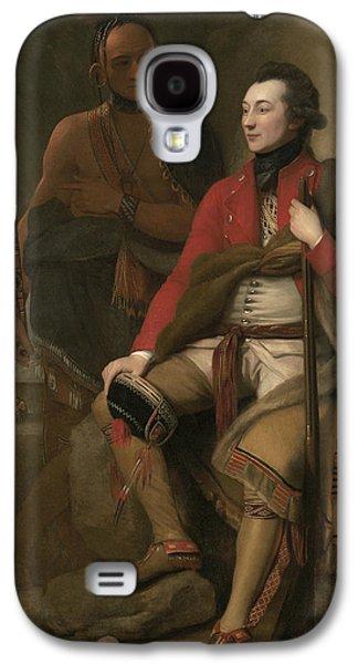 Portrait Of Colonel Guy Johnson Galaxy S4 Case
