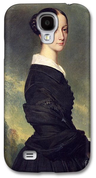 Portrait Of Francisca Caroline De Braganca Galaxy S4 Case by Franz Xaver Winterhalter