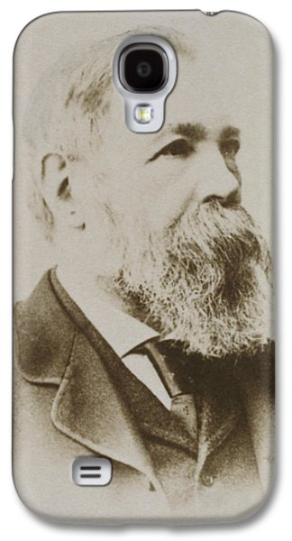 Portrait Of Friedrich Engels Galaxy S4 Case by Karl Pinkau