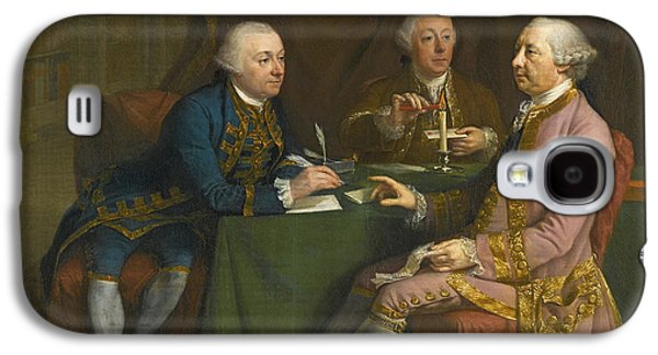 Portrait Of George Montagu Dunk Galaxy S4 Case by Hugh Douglas