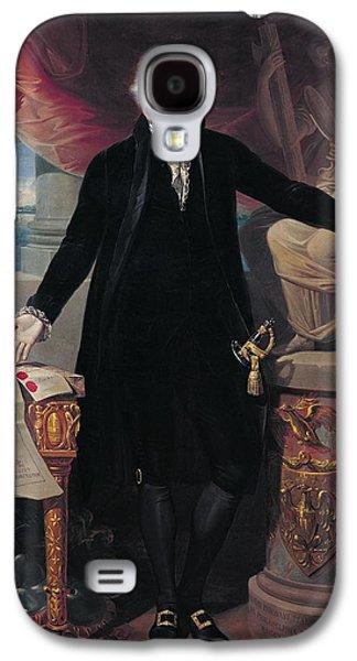 Portrait Of George Washington Galaxy S4 Case by Joes Perovani