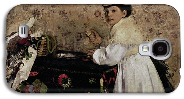 Portrait Of Hortense Valpincon As A Child Galaxy S4 Case