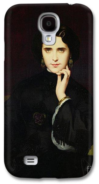 Portrait Of Jeanne De Tourbay Galaxy S4 Case