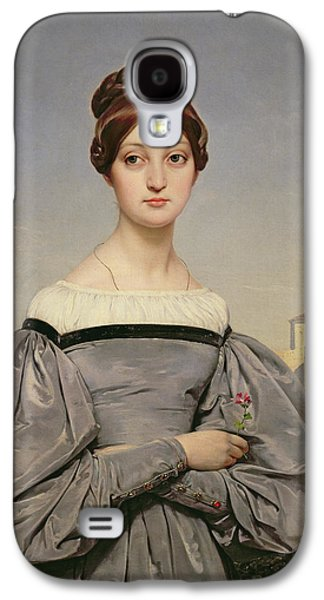 Portrait Of Louise Vernet Galaxy S4 Case by Emile Jean Horace Vernet
