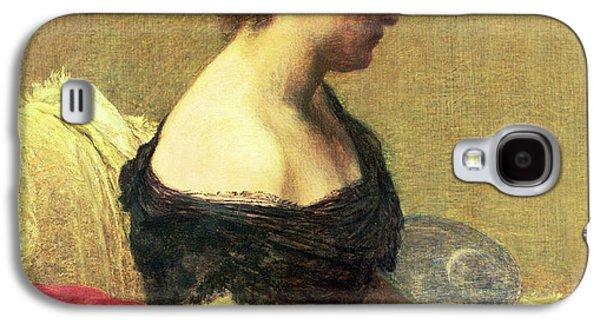 Portrait Of Madame Maitre Galaxy S4 Case by Ignace Henri Jean Fantin Latour