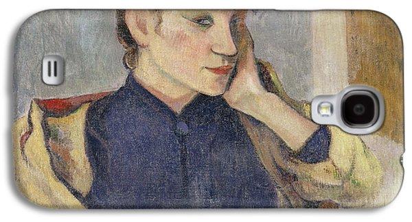 Portrait Of Madeleine Bernard Galaxy S4 Case