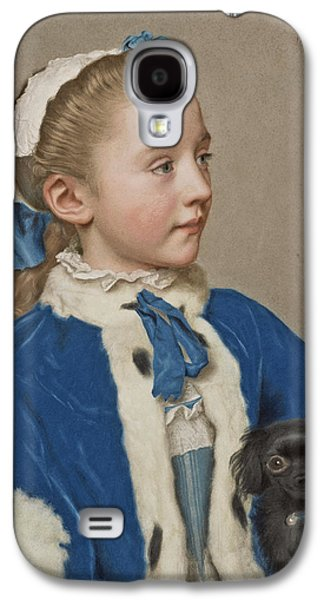 Portrait Of Maria Frederike Van Reede-athlone At Seven Years Of Age Galaxy S4 Case by Jean-Etienne Liotard