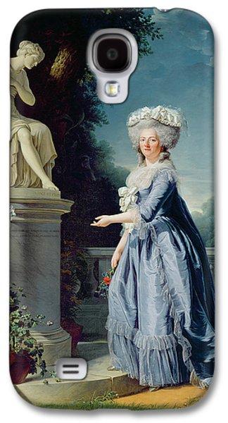 Portrait Of Marie-louise Victoire De France Galaxy S4 Case by Adelaide Labille-Guiard