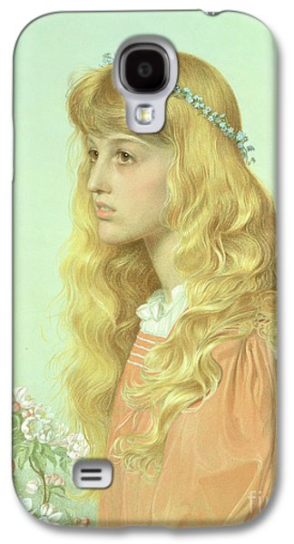Portrait Of Miss Adele Donaldson, 1897 Galaxy S4 Case by Anthony Frederick Augustus Sandys