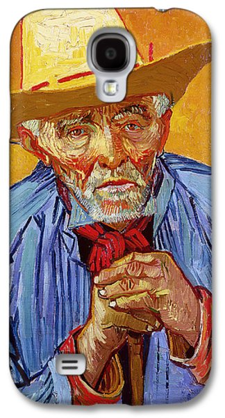 Portrait Of Patience Escalier Galaxy S4 Case by Vincent van Gogh