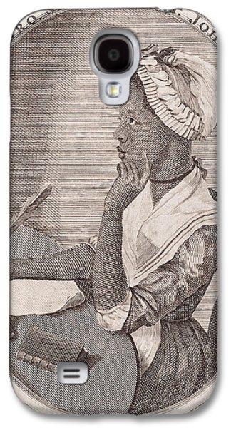 Portrait Of Phillis Wheatley Galaxy S4 Case by American School