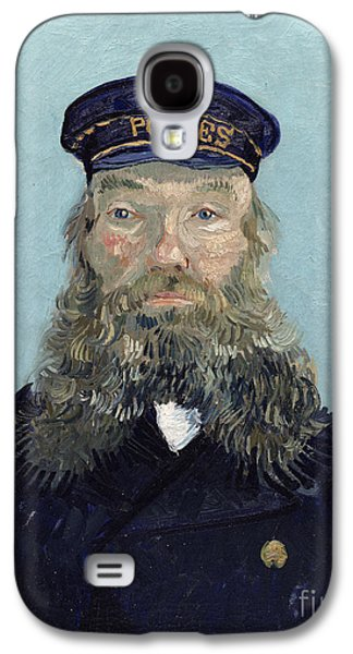 Portrait Of Postman Roulin Galaxy S4 Case by Vincent van Gogh