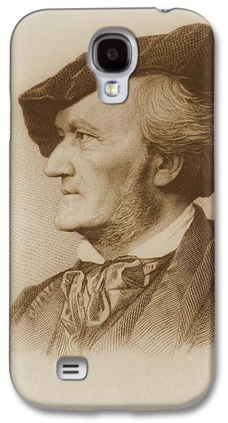 Portrait Of Richard Wagner Galaxy S4 Case by Robert Reyher