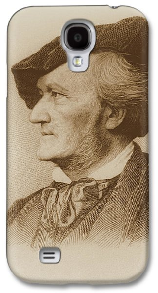 Portrait Of Richard Wagner Galaxy S4 Case