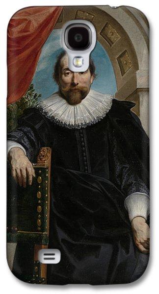 Portrait Of Rogier Le Witer Galaxy S4 Case