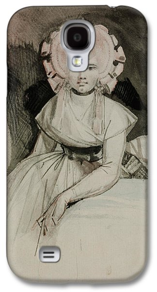Portrait Of The Artist's Wife Galaxy S4 Case