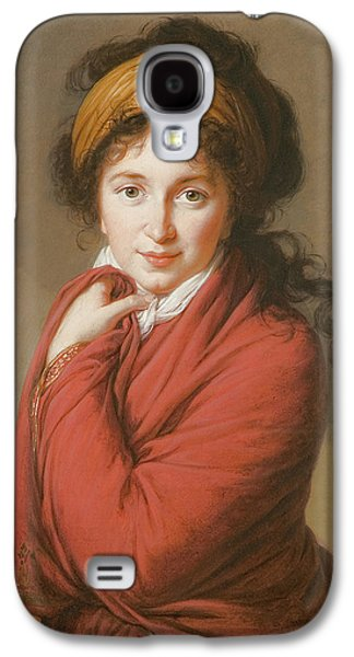 Portrait Of The Countess Nikolai Nikolaevich Golovin Galaxy S4 Case by Elisabeth Louise Vigee-Lebrun