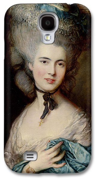 Portrait Of The Duchess Of Beaufort Galaxy S4 Case by Thomas Gainsborough