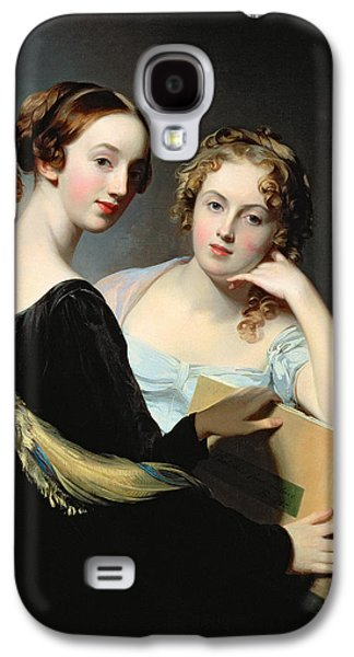 Portrait Of The Mceuen Sisters Galaxy S4 Case by Thomas Sully