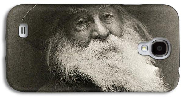 Portrait Of Walt Whitman Galaxy S4 Case