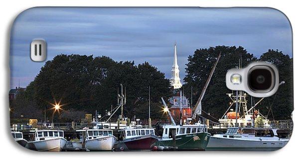 Portsmouth Fish Pier Galaxy S4 Case