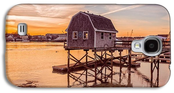 Portsmouth Sunset Galaxy S4 Case